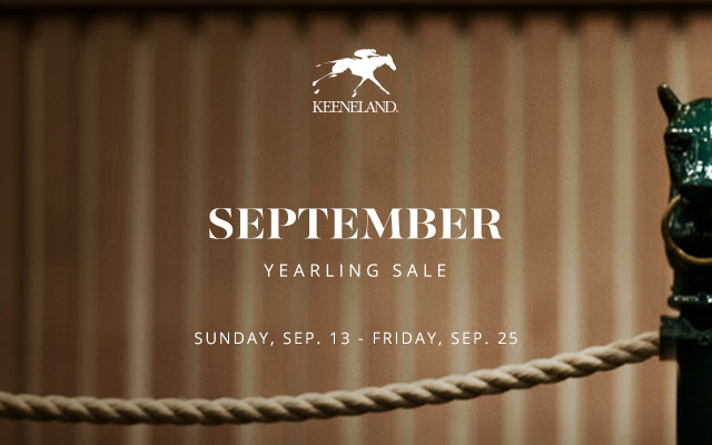 September Yearling Sale - September 13-25
