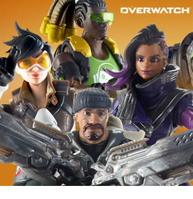 OVERWATCH ULTIMATE WAVE 1 FIGURES