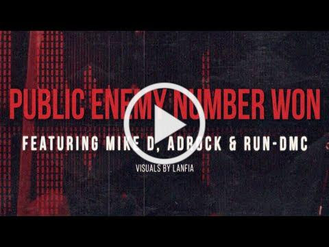 Public Enemy - Public Enemy Number Won (Lyric Video)