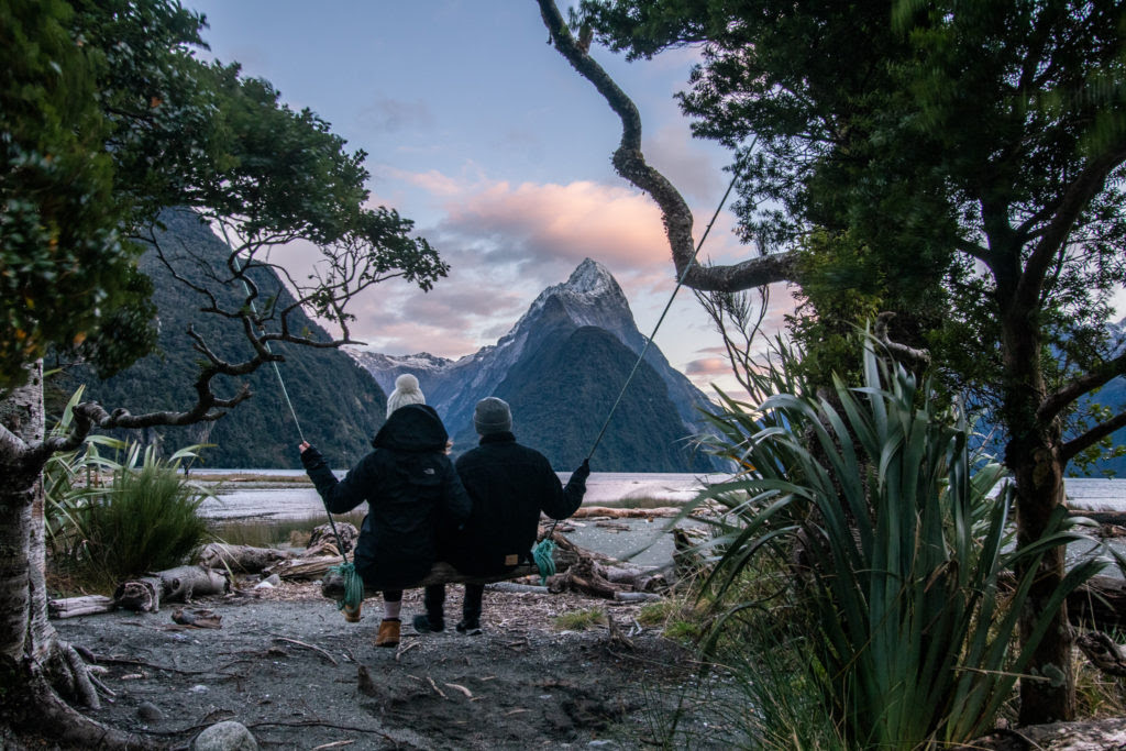 Milford Sound - travelling after university