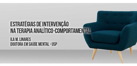 Curso Estratégias de Intervenção na Terapia Analítico Comportamental 8