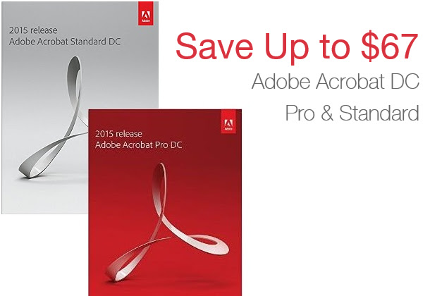 Save Up To $67 on Adobe Acroba...