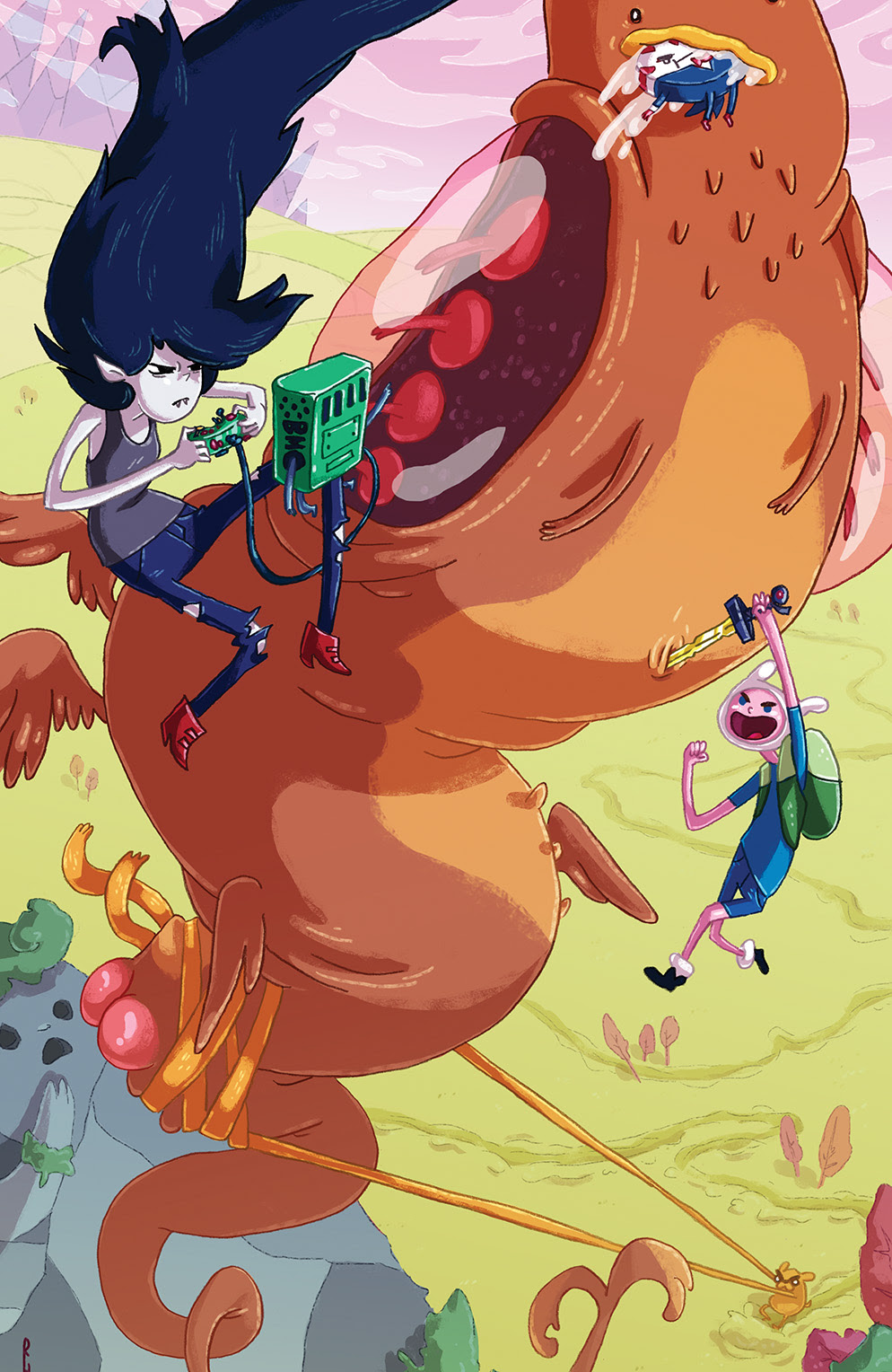 ADVENTURE TIME #31 Cover C by Rachael Hunt