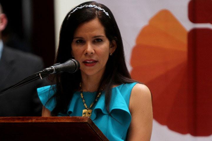 La Defensora del Pueblo de la República Bolivariana de Venezuela, Gabriela Ramírez