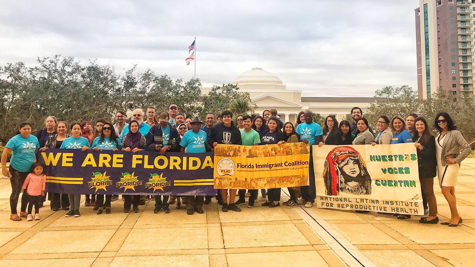 We Are Florida activists