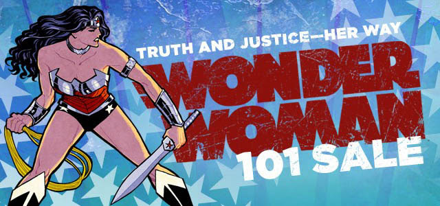 Wonder Woman 101 Sale