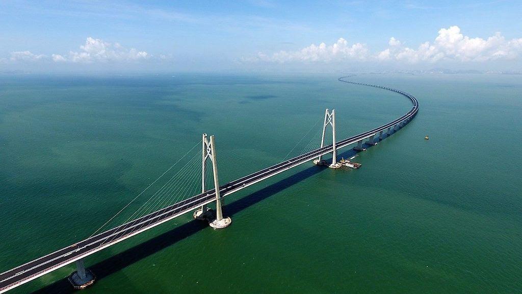 Puente que conectará a Zhuhai con Hong Kong y Macao
