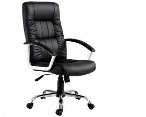 Cadeira Importado Office Presidente Plus em Couro Sintético