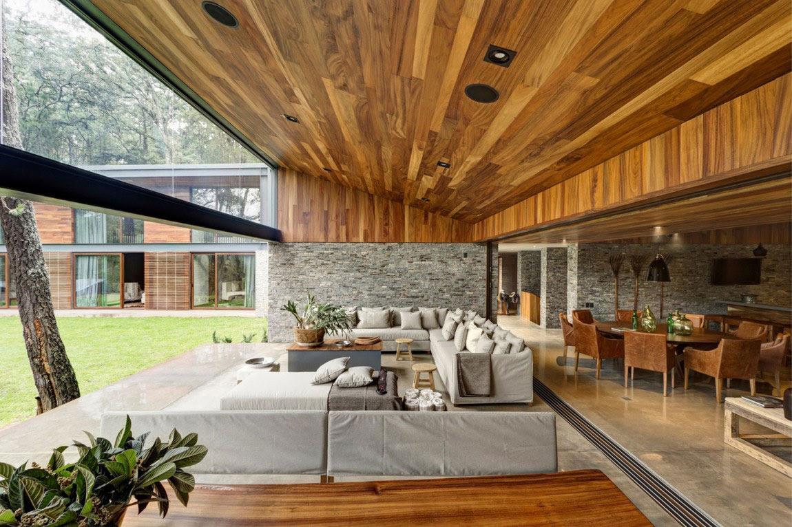 Όμορφη Casa ΜΜ με ένα σύγχρονο σχέδιο που δημιουργείται από τον Ηλία Ρίζο Arquitectos (7)