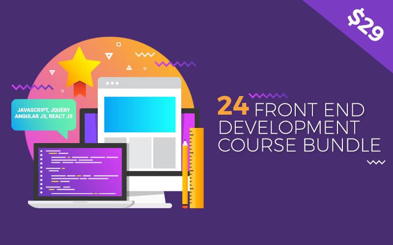 24 Courses Front End Development