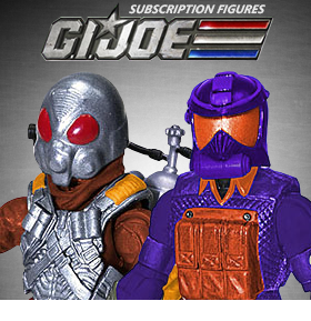GI JOE SUBSCRIPTION FIGURES