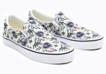 Vans Classics Slip-On Sepatu Sneaker - (PARADISE FLORAL)TRWTTRWT