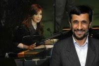 Cristina Fernández y Mahmud Ahmadinejad