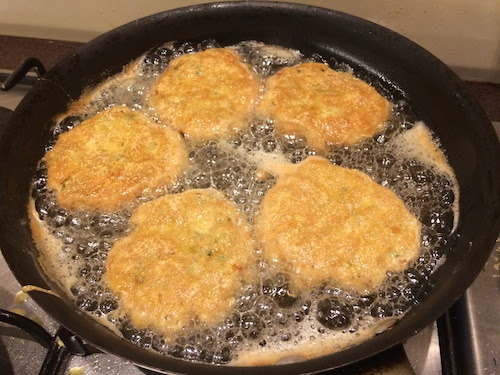 Kheema Cutlets Frying