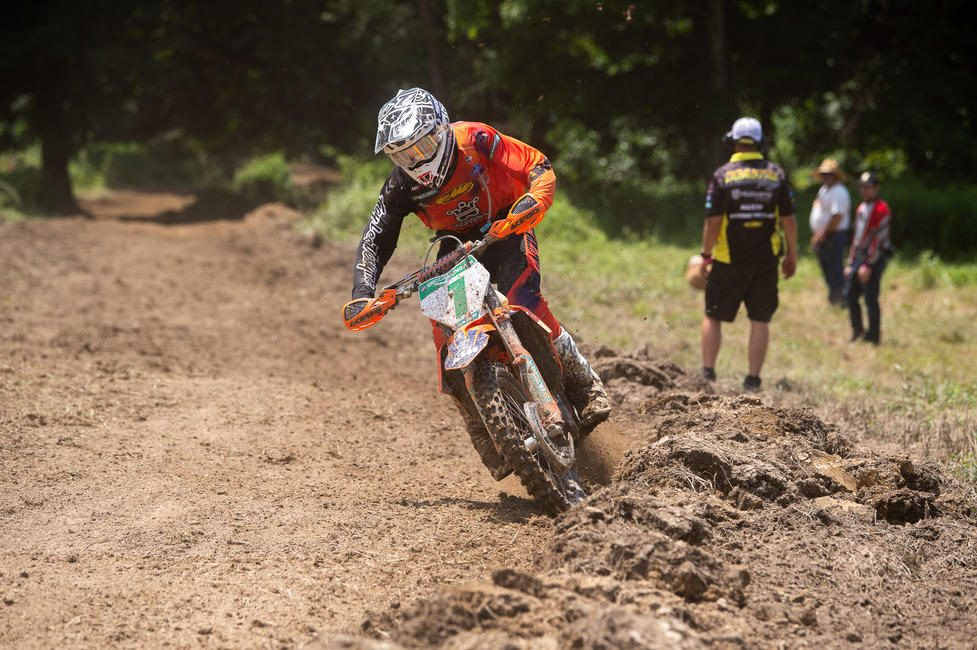 Ben Kelley earned his ninth-straight XC2 250 Pro class win at High Voltage.