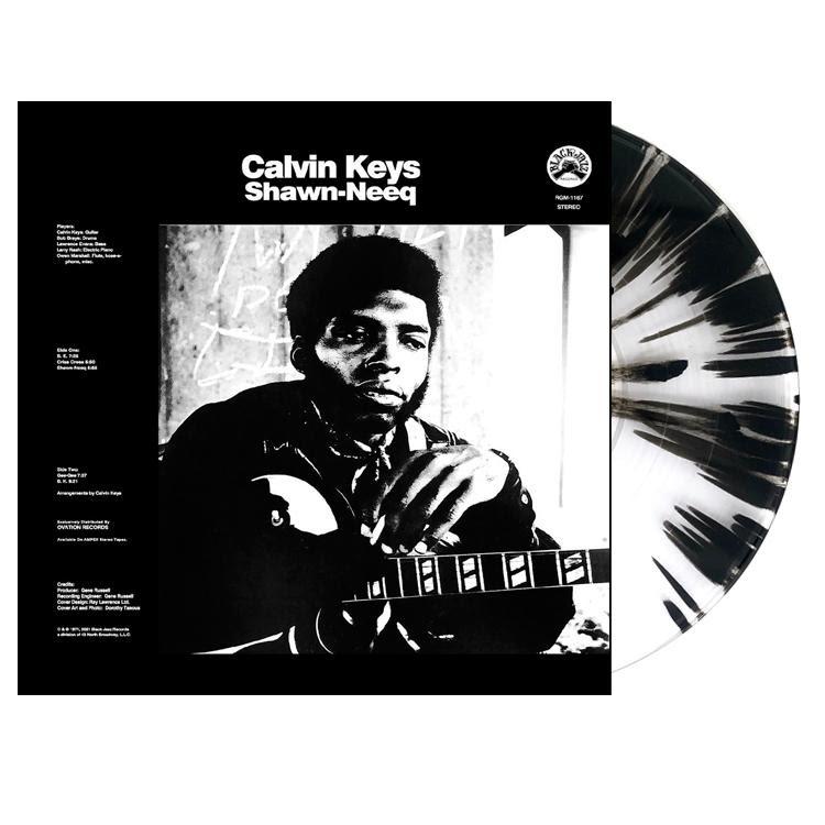 Clavin Keys Shawn-Nee Clear and Black Vinyl LP Packshot