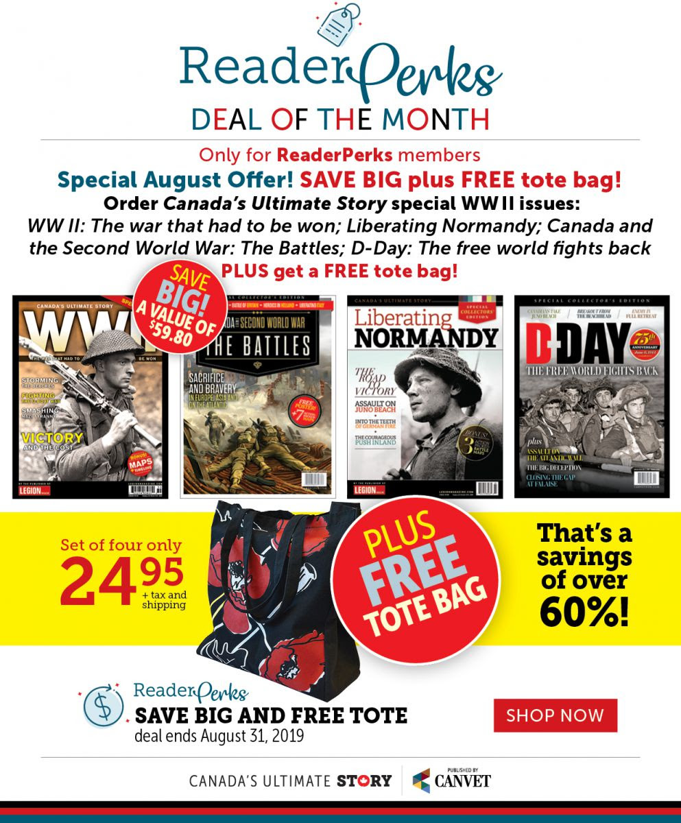 ReaderPerks | Deal of the Month for August 2019
