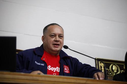 Diosdado Cabello Interpondrá recurso legal contra el gobernador de Miranda por desvío de recursos