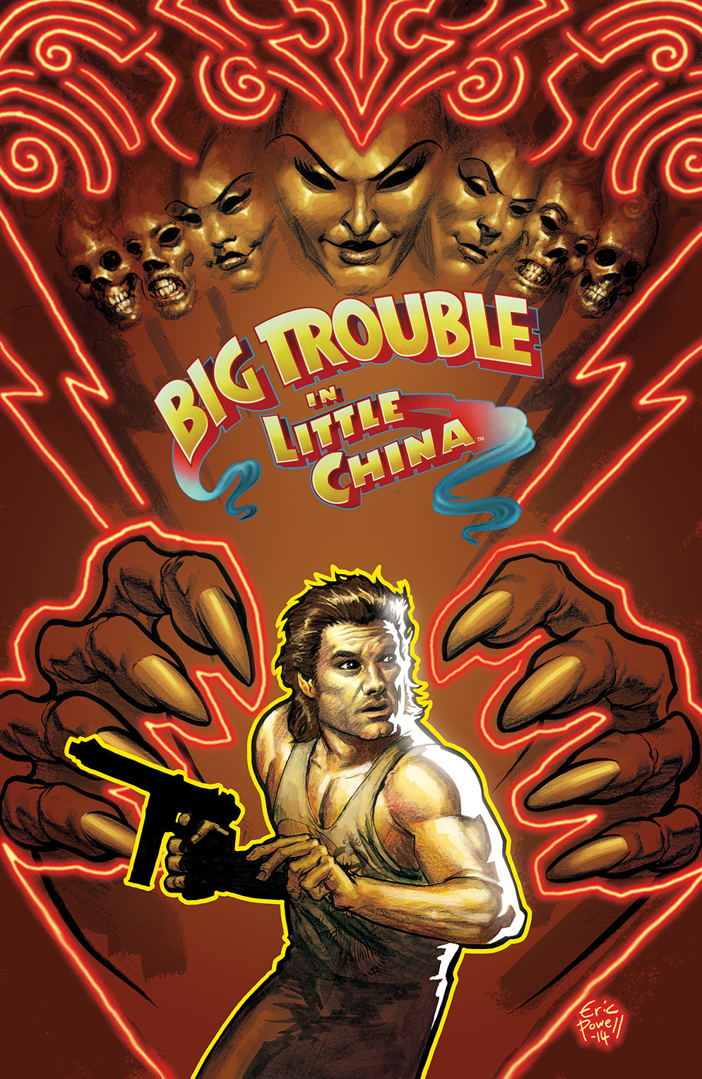 BIG TROUBLE IN LITTLE CHINA #3 Cover A by Eric Powell