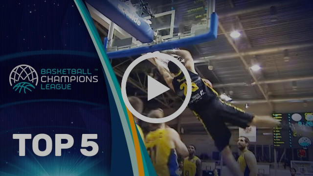 Top 5 Plays - Wednesday - Gameday 1 - Basketball Champions League 2017-18