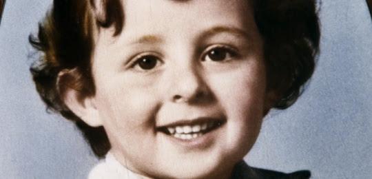 Portrait du petit Grégory Villemin