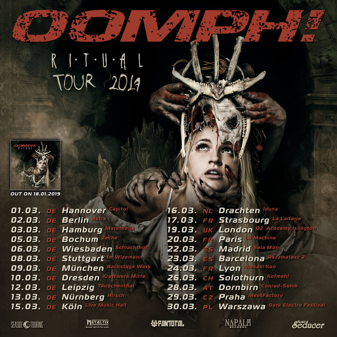 OOMPH Tour Poster 2019
