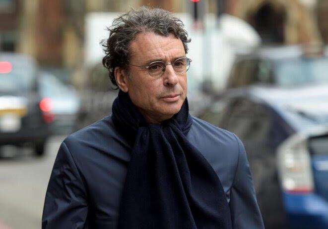Alexandre Djouhri, à Londres, où il se bat contre une possible extradition. © Reuters