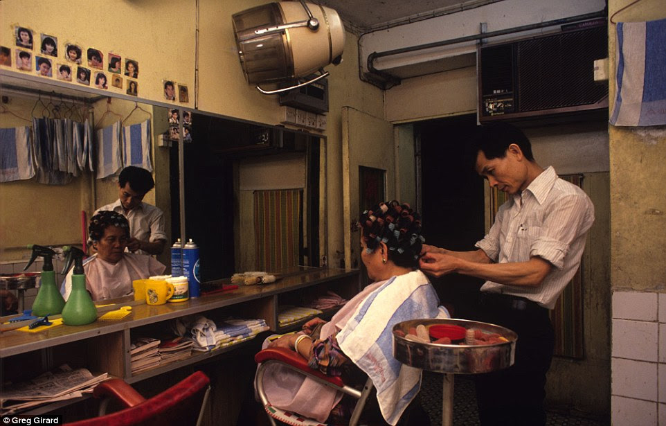 Residents of Kowloon Walled City had access to almost every kind of business or service, including hair salons and doctors