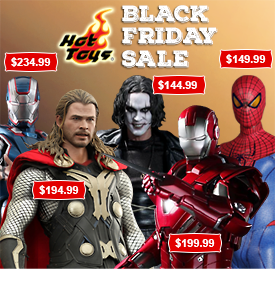 Hot Toys & Sideshow Black Friday Sale!