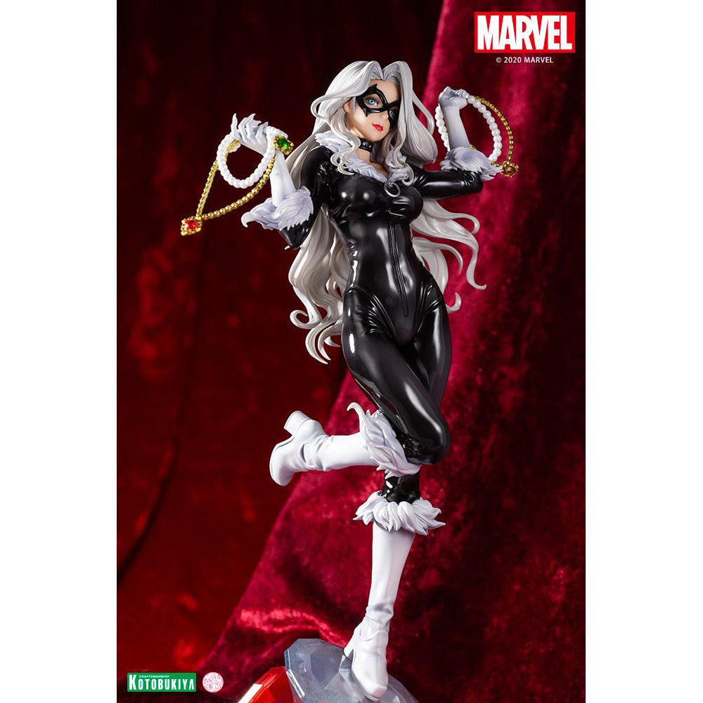 """Image of Marvel Comics – Black Cat """"Steals Your Heart"""" Bishoujo Statue - JANUARY 2021"""