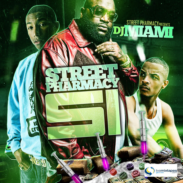 STREET PHARMACY 51 live mixtapes