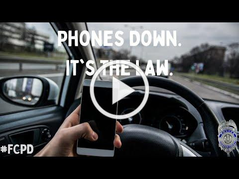 """""""Phones Down, Virginia!"""": An Update on the Hands Free Driving Law"""