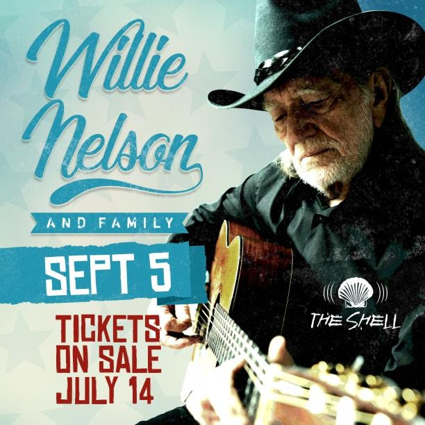 Willie Nelson at The Shell