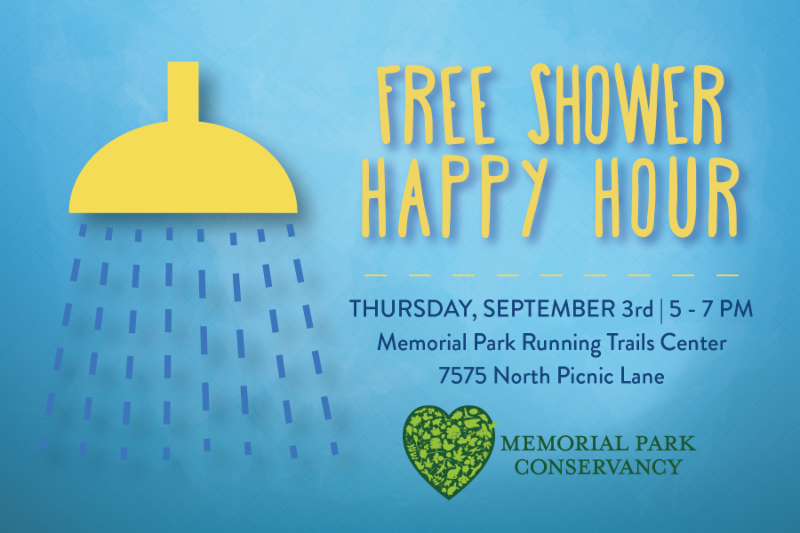 Free Shower Happy Hour
