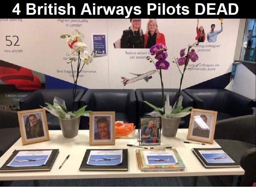 4 πιλότοι των βρετανικών αεραγωγών πέθαναν μετά από 19 εγχύσεις covid