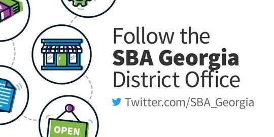 Follow SBA Georgia District on Twitter