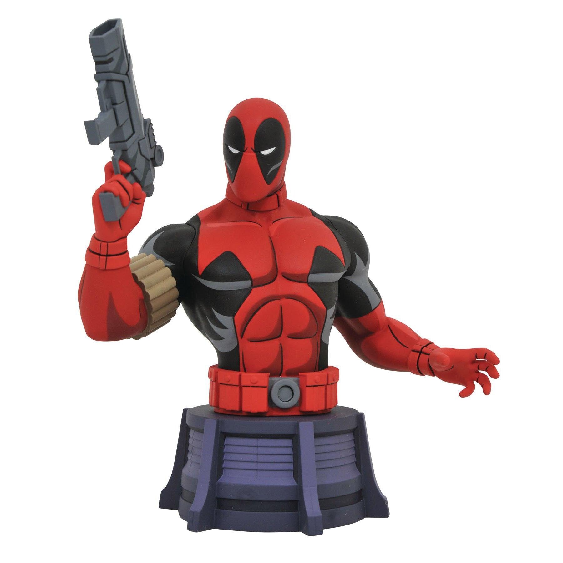 Image of Marvel Animated X-Men Deadpool Bust - JULY 2020