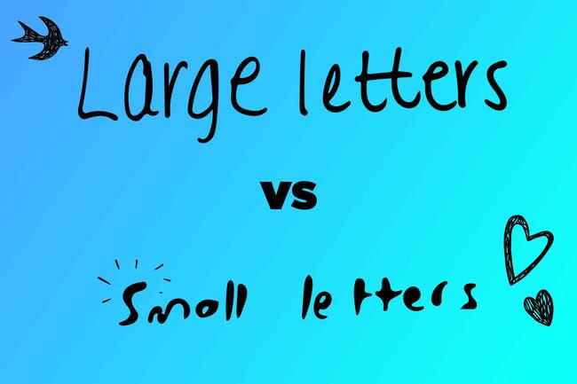 Nếu bạn viết chữ lớn thì bạn là người dễ gần, sống có định hướng, thẳng thắn và thích được người khác chú ý