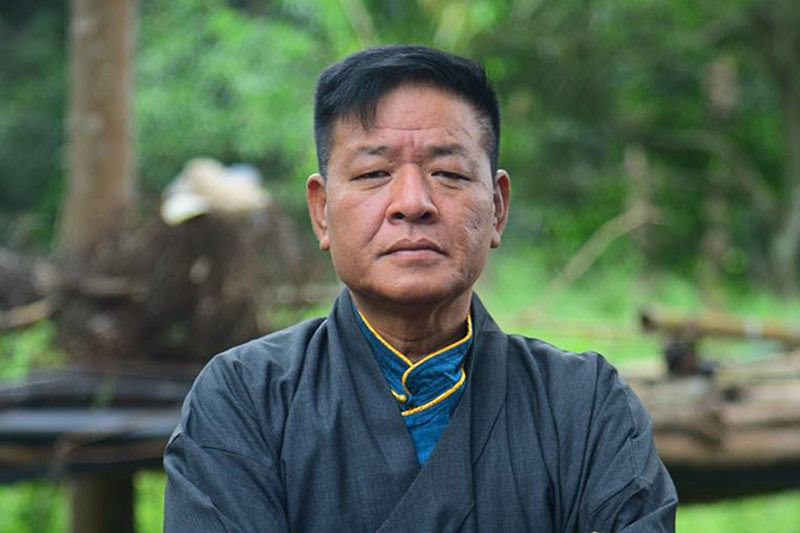 Penpa Tsering will become Sikyong 2021 at the end of May, seen in an undated file photo.