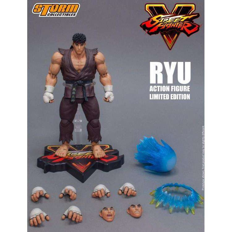Image of Street Fighter V Ryu (Brown Ver.) 1/12 Scale Figure NYCC 2017 Exclusive