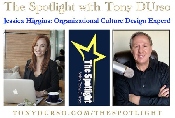 Jessica Higgins on The Spotlight with Tony DUrso