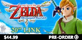 """THE LEGEND OF ZELDA 20"""" LINK"""