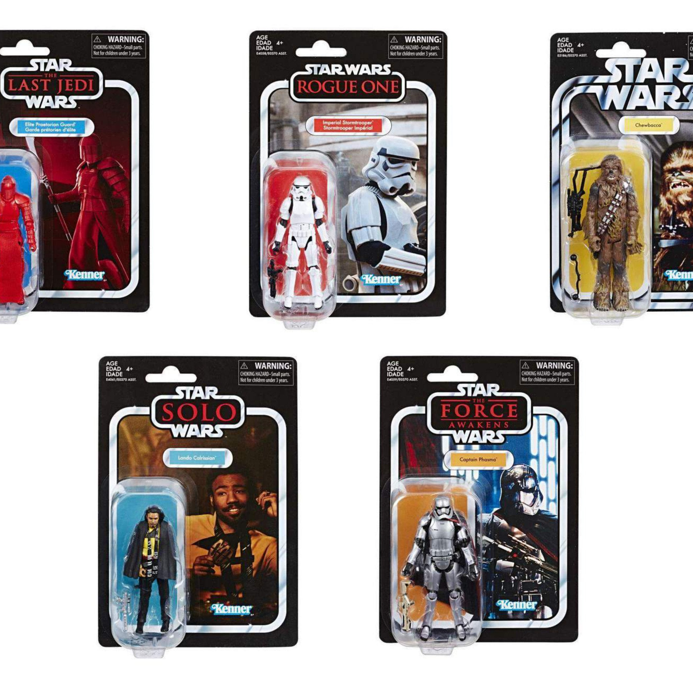 Image of Star Wars: The Vintage Collection Wave 6 - Set of 5