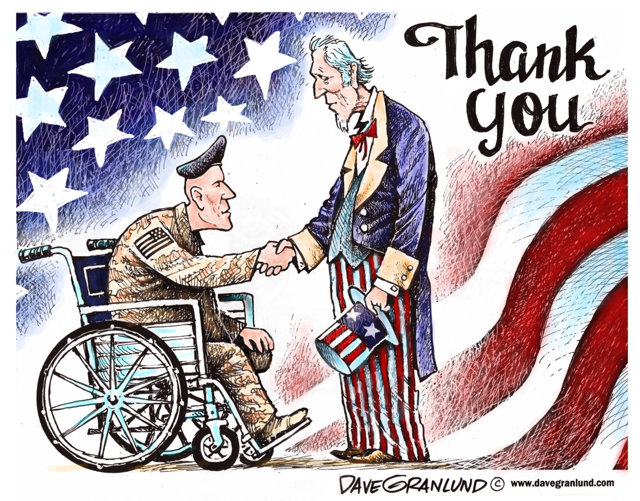 America honors its veterans. Stop voter suppression.