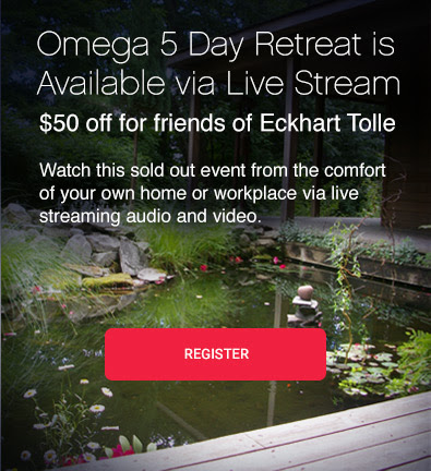 Omega 5 Day Retreat is<br /> Available via Live Stream