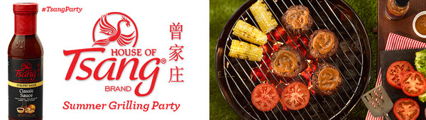 HOUSE OF TSANG® brand Summer Grilling Party House Party