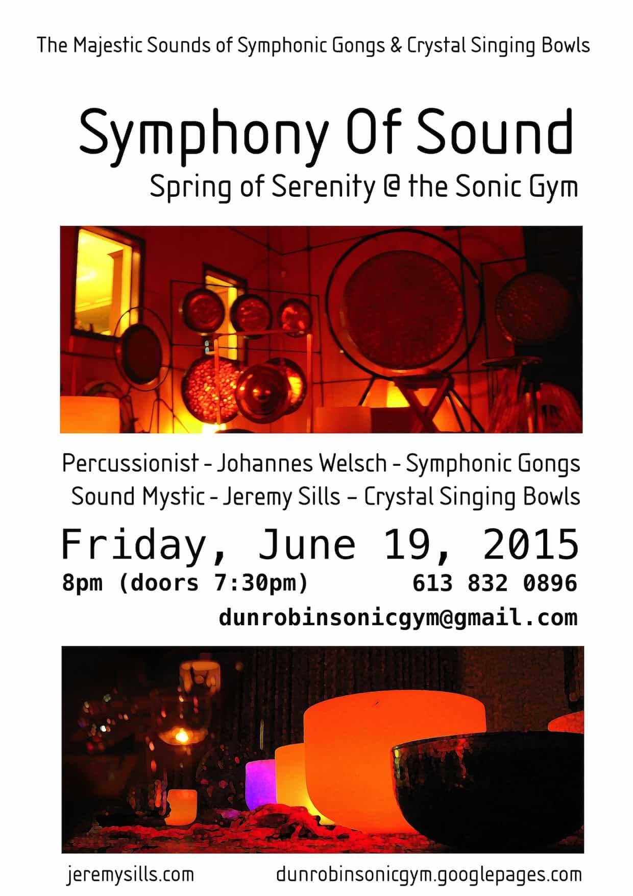 symphony of sound june 19th 2015 jeremy sills johannes welsch
