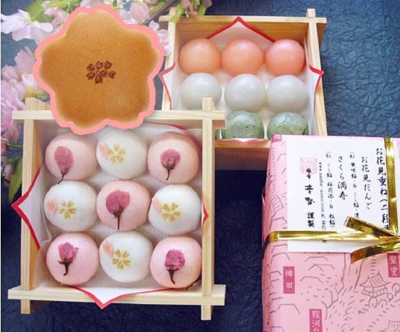 桜の和菓子各種