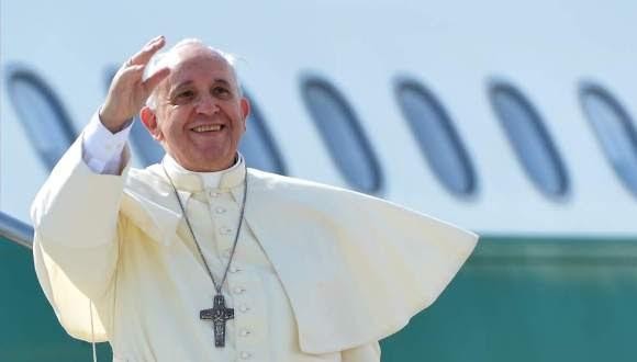 El Papa Francisco arribó Cuba.