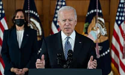 'Our silence is complicity': Biden and Harris condemn anti-Asian violence during Atlanta visit